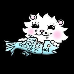 Maru the White Cat