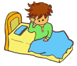 The Boy Sending Healing 2 sticker #3372368