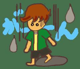 The Boy Sending Healing 2 sticker #3372369