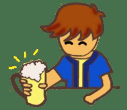The Boy Sending Healing 2 sticker #3372371