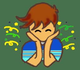 The Boy Sending Healing 2 sticker #3372372