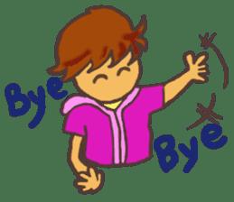The Boy Sending Healing 2 sticker #3372380