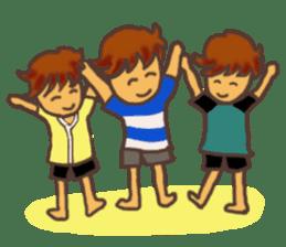 The Boy Sending Healing 2 sticker #3372390