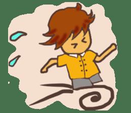 The Boy Sending Healing 2 sticker #3372394