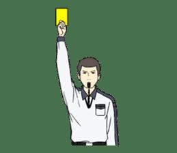 VOLLEYBALL REFEREES' HAND SIGNALS sticker #3375716