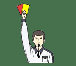 VOLLEYBALL REFEREES' HAND SIGNALS sticker #3375718