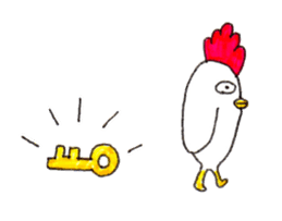 Rooster And Penguin sticker #3378864