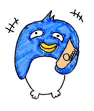 Rooster And Penguin sticker #3378867
