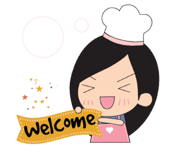 Little Chef (English) sticker #3384625