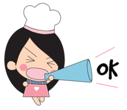 Little Chef (English) sticker #3384632