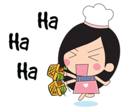 Little Chef (English) sticker #3384637