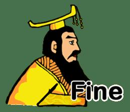 Emperor Stickers(English) sticker #3386966