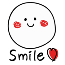 Simple smile sticker sticker #3395450
