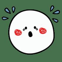 Simple smile sticker sticker #3395455