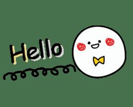 Simple smile sticker sticker #3395480