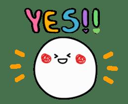 Simple smile sticker sticker #3395482