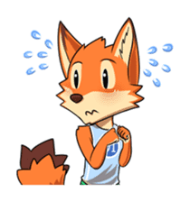 Anun, The Silly Fox sticker #3397531