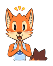 Anun, The Silly Fox sticker #3397532