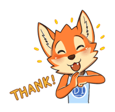 Anun, The Silly Fox sticker #3397534