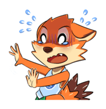 Anun, The Silly Fox sticker #3397537