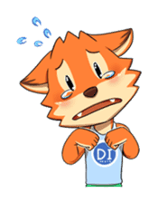 Anun, The Silly Fox sticker #3397543
