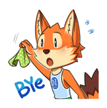 Anun, The Silly Fox sticker #3397544