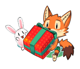 Anun, The Silly Fox sticker #3397546