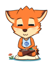 Anun, The Silly Fox sticker #3397551