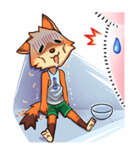 Anun, The Silly Fox sticker #3397553