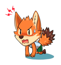 Anun, The Silly Fox sticker #3397557