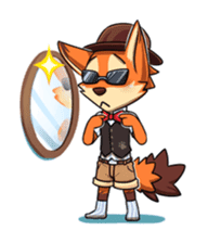 Anun, The Silly Fox sticker #3397559