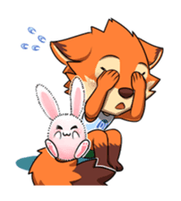 Anun, The Silly Fox sticker #3397560