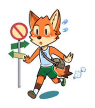 Anun, The Silly Fox sticker #3397562