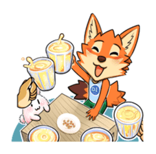 Anun, The Silly Fox sticker #3397569