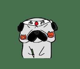 pug-sticker2 sticker #3397615