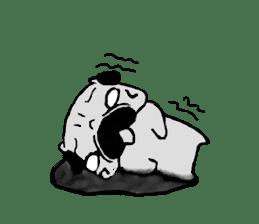 pug-sticker2 sticker #3397616