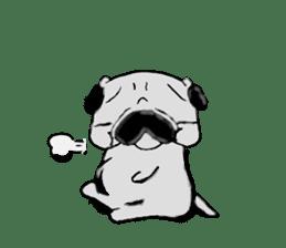 pug-sticker2 sticker #3397621