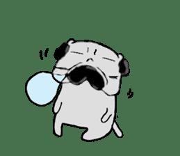 pug-sticker2 sticker #3397622