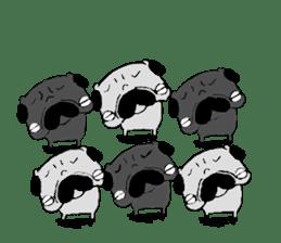 pug-sticker2 sticker #3397623