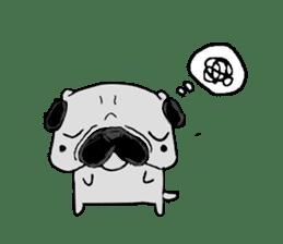 pug-sticker2 sticker #3397624