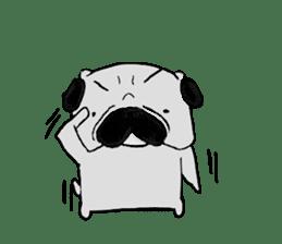 pug-sticker2 sticker #3397626