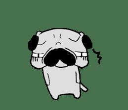 pug-sticker2 sticker #3397629