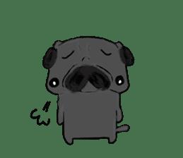pug-sticker2 sticker #3397635