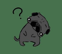 pug-sticker2 sticker #3397637