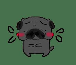 pug-sticker2 sticker #3397638