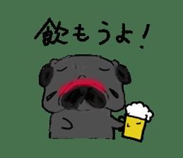 pug-sticker2 sticker #3397639