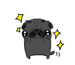 pug-sticker2 sticker #3397641