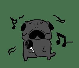 pug-sticker2 sticker #3397642