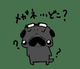 pug-sticker2 sticker #3397643