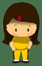 MeiGo's workout routine sticker #3400312
